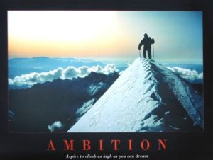 ER0905-Ambition- ASPIRE TO CLIMB