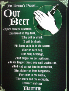 ER3633 Drinker's Prayer