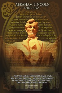 2400-1433 Abraham Lincoln, The Gettysburg Address
