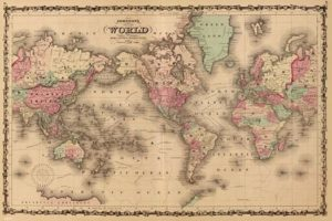 Map of the ancient world athena posters world map old gumiabroncs Image collections