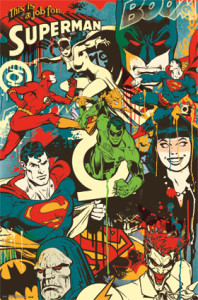 9663 DC Comics - Throwback