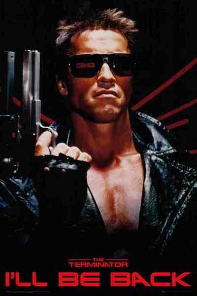 Terminator ill be back pics
