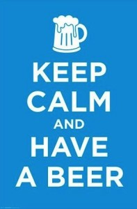 PW50868-Keep Calm and Have A Beer