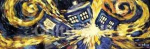 SP0289- Dr Who EXPLODING TARDIS