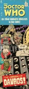 SP0339 Slim -ORIGIN OF DAVROS comic cover