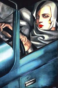 1500-1050 Auto-portrait- Tamara DeLempicka
