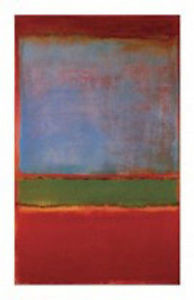 Mark Rothko- Violet, Red and Green
