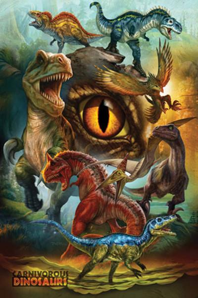 2400-0359 Dinosaurs – Carnivorous