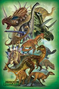 2400-0360 Dinosaurs - Herbivores