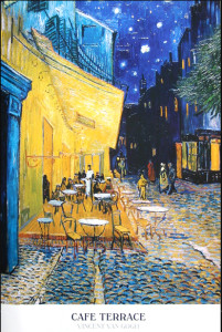 ER2414 Van Gogh- CAFE TERRACE