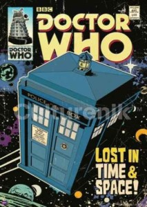 ER6775  DOCTOR WHO LOST IN TIME AND SPACE