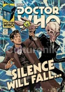 ER6789  DOCTOR WHO SILENCE WILL FALL COMIC