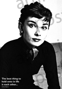 ER7134  AUDREY HEPBURN - THE BEST THING
