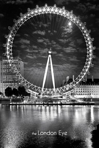 ER5891 LONDON EYE BLACK