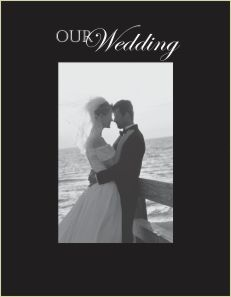 9033 SB-Our Wedding vert small Blk Hor