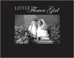 9037 SB- Little Flower Girl-Sm blk