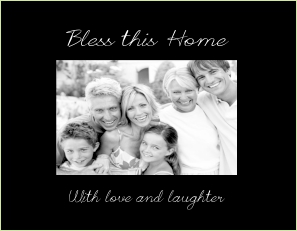 C9423 SB - Bless this home w verse