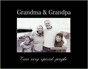 C9434 SB -Grandma & Grandpa with verse