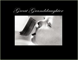 C9438 SB-Great Granddaughter