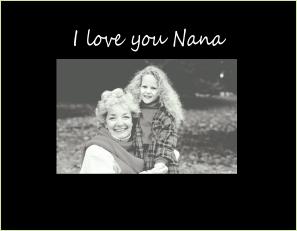 C9443 SB- I love you Nana