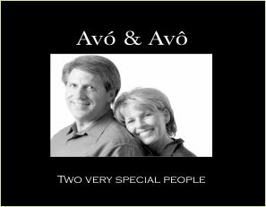 P9417 SB- Avo & Avô-Grandma & Grandpa w verse