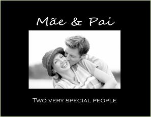 P9418 SB- Mãe & Pai- Mother & Father- w verse