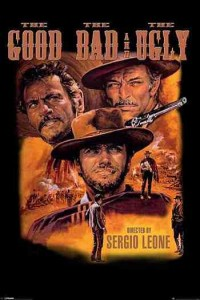 ER6858 THE GOOD THE BAD THE UGLY CLINT EASTWOOD