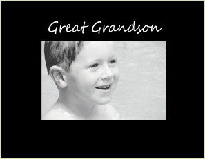 9088 SB- Great Grandson