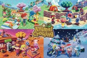 ER6805 ANIMAL CROSSING FOUR SEASONS