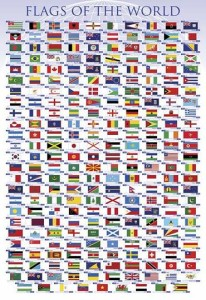 ER7064  FLAGS OF THE WORLD