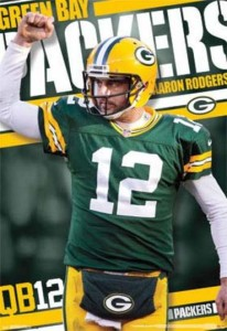 ER7070 AARON RODGERS FOOTBALL