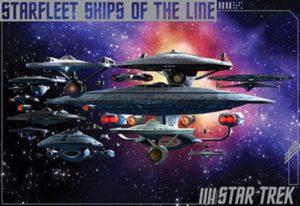 ER7080 STAR TREK STARFLEET SHIPS OF THE LINE