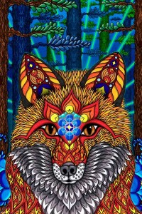 ER7093  ELECTRIC FOX ARTISTIC