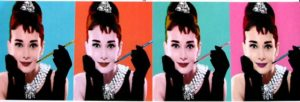 MCPP60063  AUDREY HEPBURN POP ART