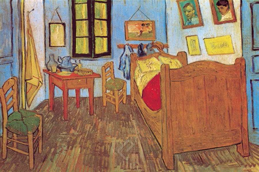 la chambre de van gogh a arles vincent vangogh athena posters. Black Bedroom Furniture Sets. Home Design Ideas