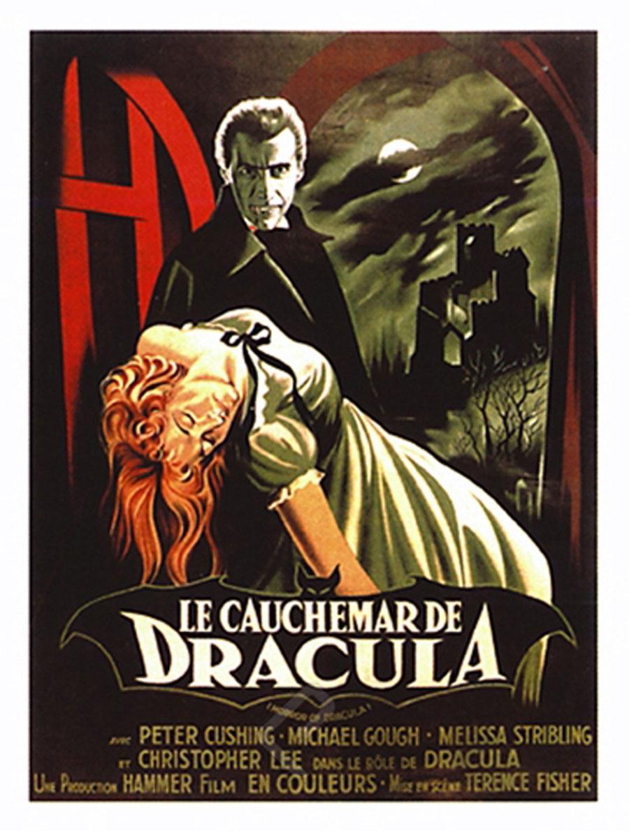 Le Cauchemar de Dracula - Athena Posters