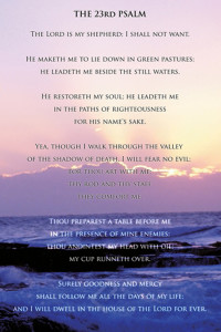 2400-0011 23rd Psalm