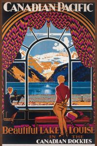 2400-0323 Canadian Pacific Rail Lake Louise