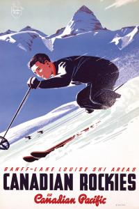 2400-0326 Canadian Pacific Rail Lake Louise Ski Area