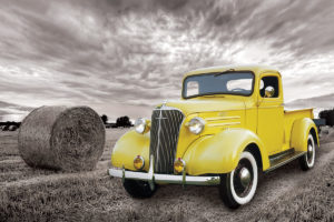 2400-0666 1937 Chevy PickUp Truck