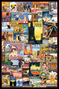 2400-0755 Travel the World Vintage Ads
