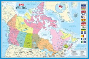 2400-0781 Map of Canada