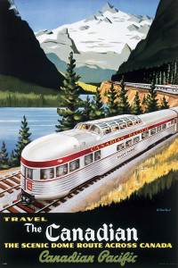 2400-10102 Canadian Pacific, The Scenic Dome Route, 1955