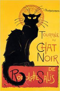 2400-1399 Chat Noir by Steinlen