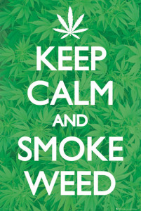ER5963 KEEP CALM Smoke Weed