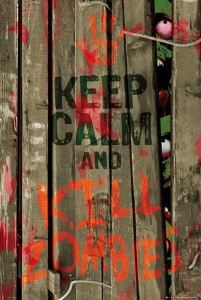 ER6141 KEEP CALM Kill Zombies
