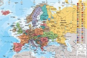 ER6433 World Map Europe