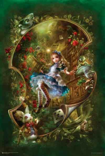 ER7222 Alice In Wonderland Keyhole