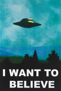 PW27250 X-Files I want to believe