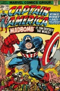 PW51079 Captain America Madbomb